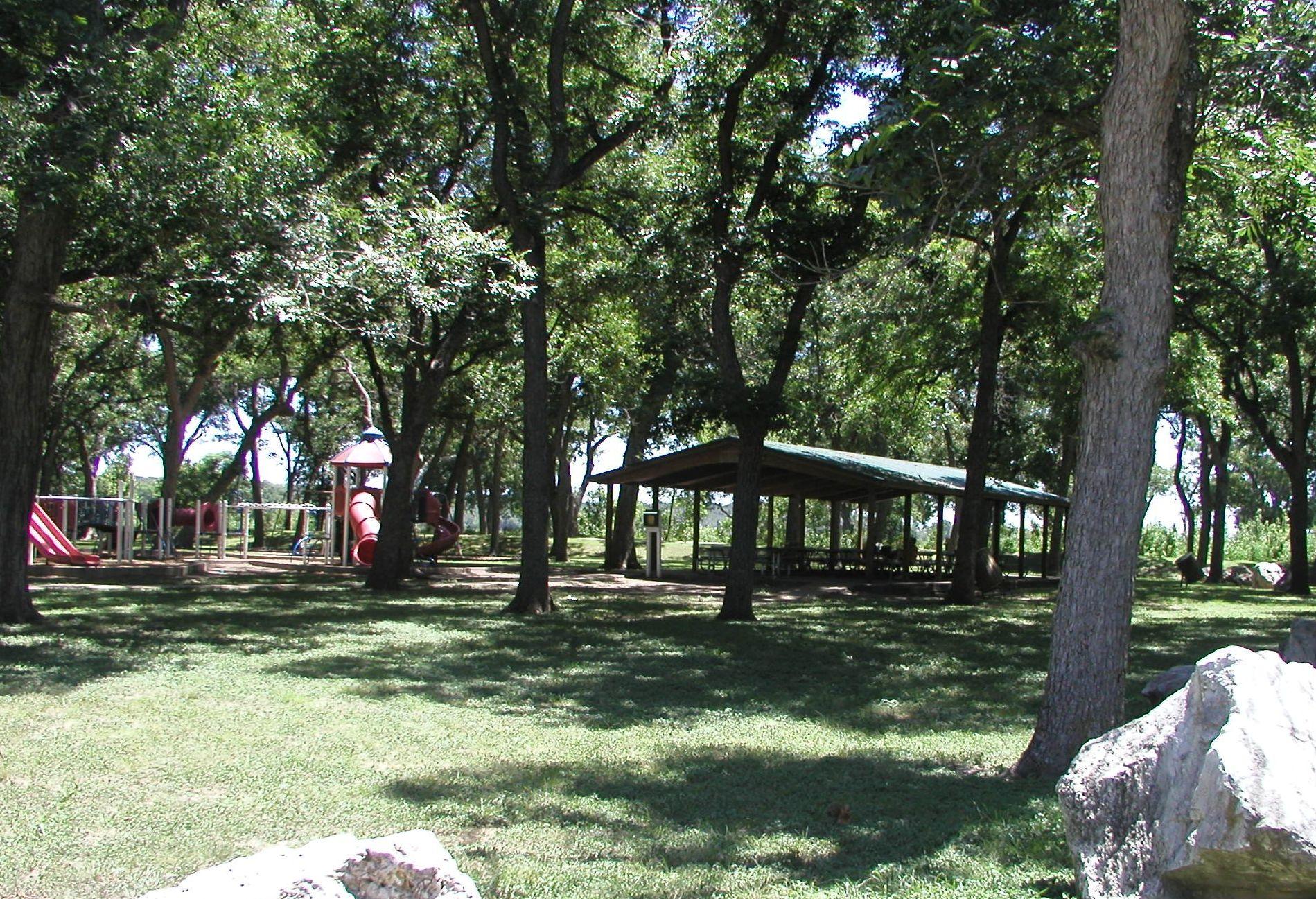 Temple Lions Pavilion
