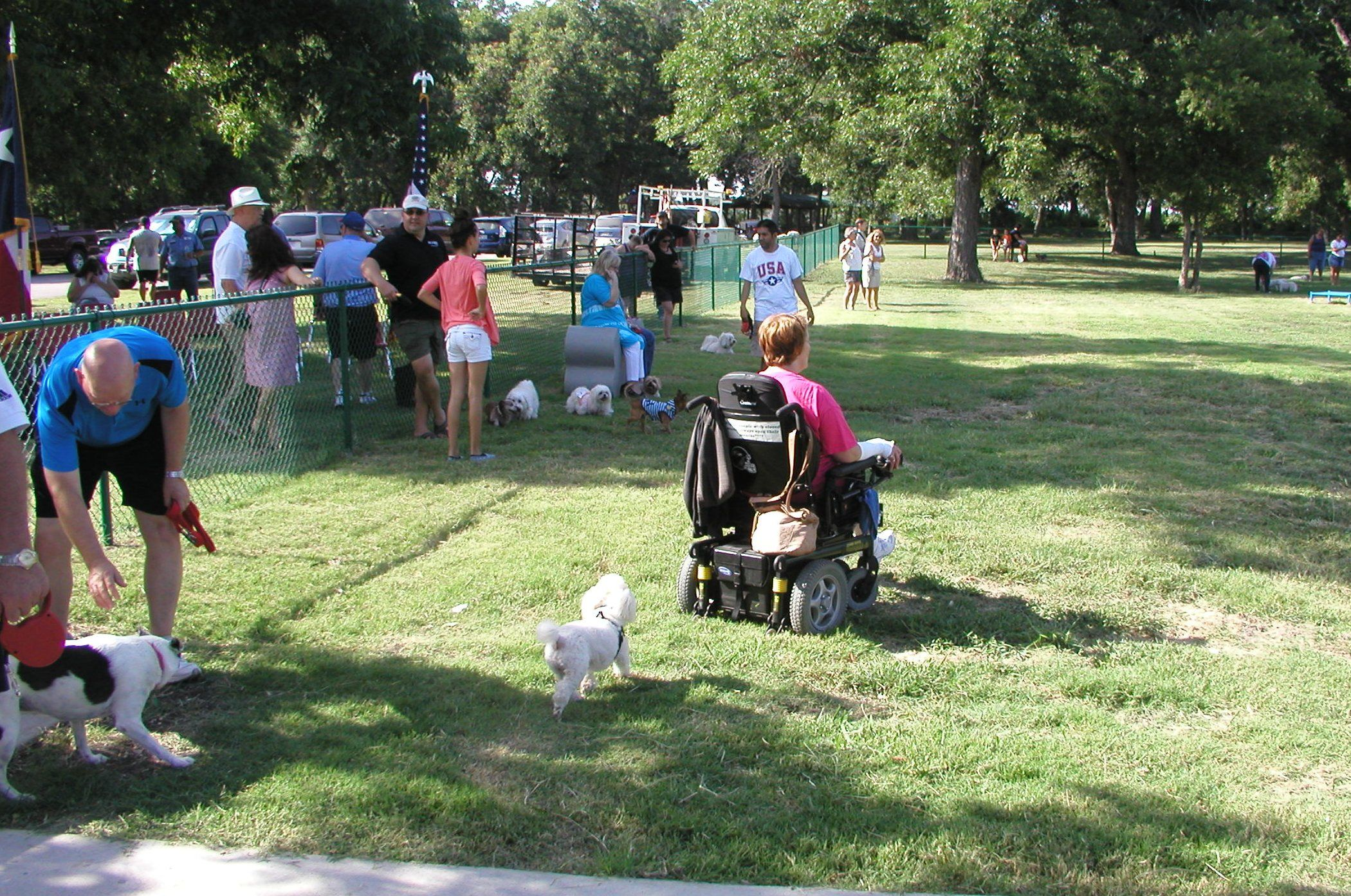 Pooches Enjoy New Bark Park
